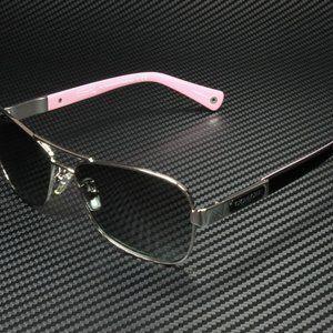 COACH Grey Black 56mm Sunglasses